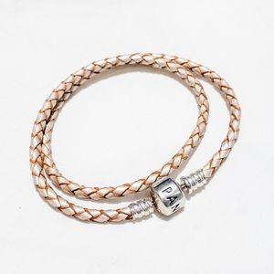 Pandora leather bracelet size small